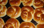Сладкие булочки быстрого приготовления