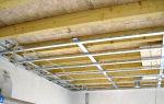 Как сделать потолок из гипсокартона в деревянном доме