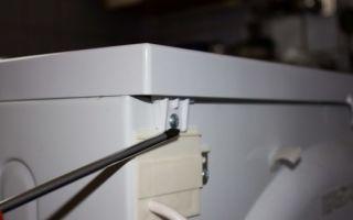 Как снять верхнюю крышку стиральной машины индезит: справляемся за 5 шагов