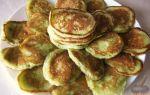 Рецепт сладких оладий из кабачков