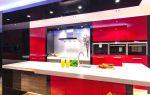 Красно-черные кухни: фото, варианты, сравнение
