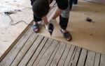 Как выровнять деревянный пол под ламинат: 5 основных этапов