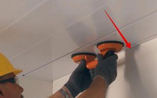 Правильный монтаж панелей пвх на потолке: 7 этапов