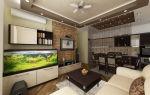 Удобная студия 18 кв. м: совмещение кухни и гостиной