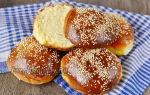 Готовим булочки для бургеров: рецепт приготовления в домашних условиях
