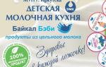 Детская молочная кухня в россии: нормы и правила