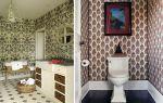Обои для туалета в квартире: фото и примеры