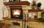 Оформление камина в интерьере: 8 рекомендуемых материалов