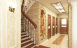 Коридор с лестницей на второй этаж: оформление дизайна