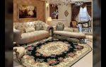 Выбрать ковры в зал: фото и основные критерии выбора