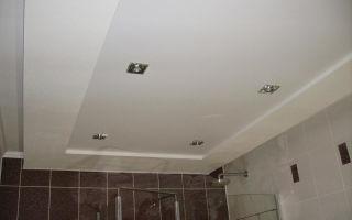 Обшивка, дизайн, нюансы: потолок из гипсокартона в ванной