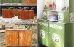 Второе дыхание интерьера кухни или переделка старой мебели своими руками