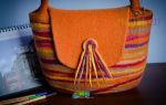 Выполняем валяние сумок из шерсти: секреты рукоделия