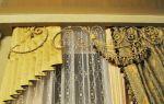Декоративные ламбрекены своими руками: украшаем окна стильно