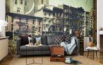 Обои «города» на стену: урбанистический стиль в интерьере