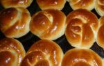 Готовим сладкие булочки из дрожжевого теста: рецепт с фото