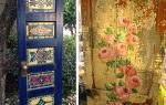 Декор и украшение дверей своими руками: 8 способов оформления