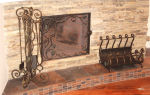 Практичные и стильные аксессуары для камина