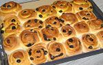 Сдобные булочки с изюмом: рецепт с фото пошагово