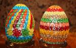 Изящный квиллинг пасхальных яиц: 4 варианта поделок