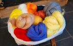 Фелтинг как хобби: валяние изделий из шерсти своими руками