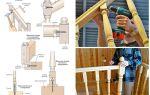 Как произвести крепление балясин и столбов лестницы