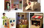 Оригинальные игрушки из картона своими руками: 4 совета