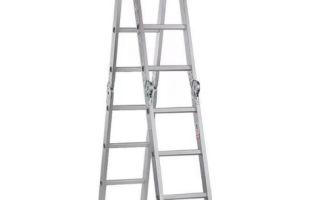 Удобная лестница-трансформер 4х4: основные производители