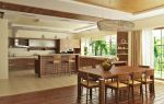 Удобная планировка кухни-столовой-гостиной: фото и 3 популярных стиля
