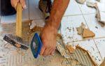Правильный демонтаж плитки: 2 способа снятия кафеля