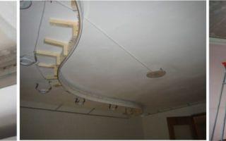 Важна ли подготовка потолка под натяжные потолки