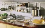 Рейлинги на кухне – функциональный и удобный аксессуар