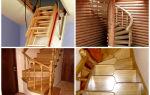 Выбор лестницы для дачи: 4 вида металлических конструкций